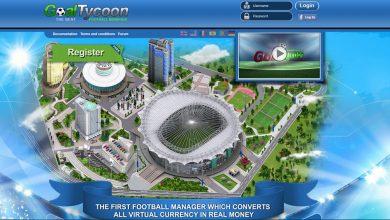 بازی GoalTycoon برای کسب درآمد اینترنتی