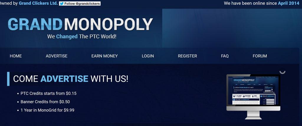 سایت کلیکی grandmonopoly