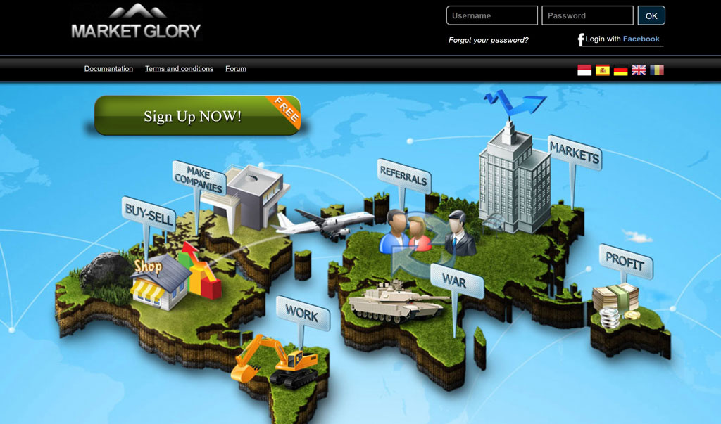 کسب درآمد از بازی آنلاین marketglory