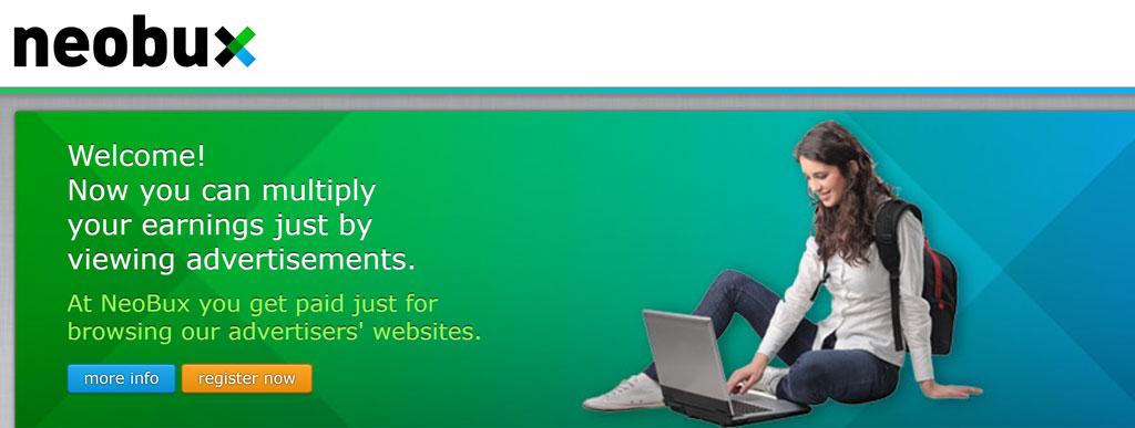 سایت Neobux معتبرترین سایت کلیکی