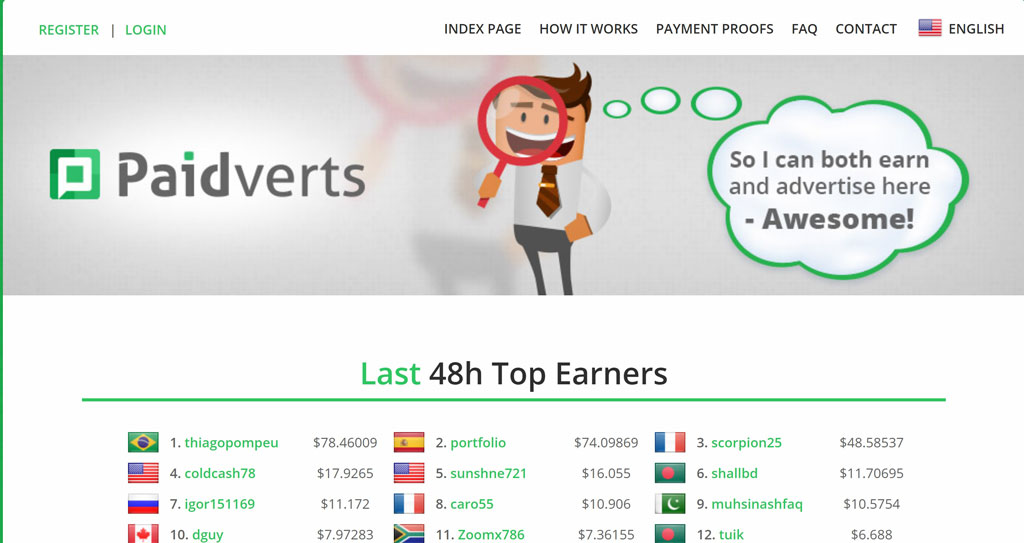 سایت paidverts پیدورتس