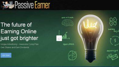 سایت Passive-earner