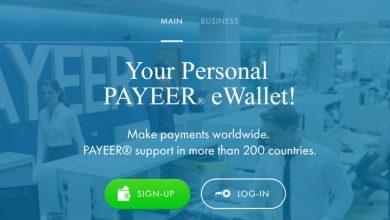 آموزش افتتاح حساب در پاییر Payeer