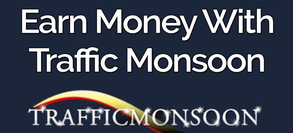 معرفی سایت trafficmonsoon